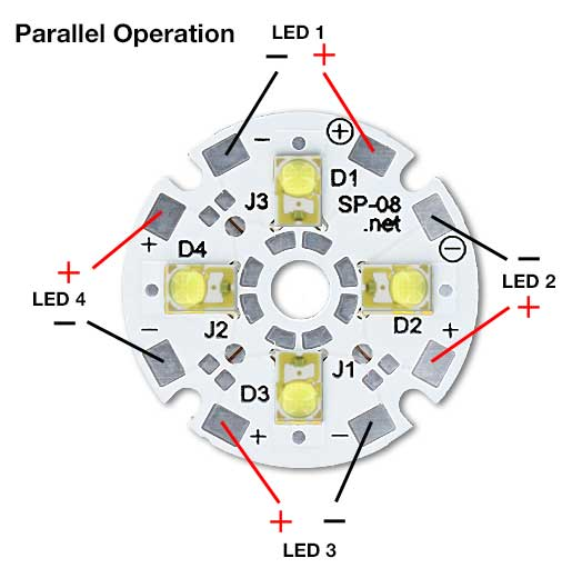 Quad LED Single Operation
