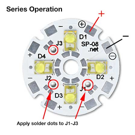 Quad LED Series Operation