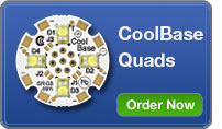 CoolBase Quad LEDs