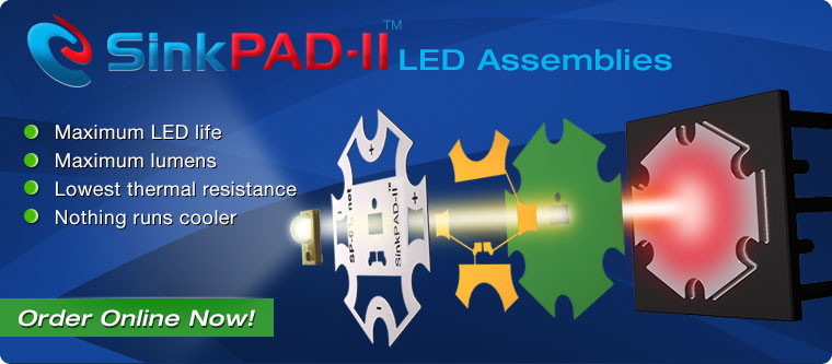 SinkPAD-II LED Assemblies