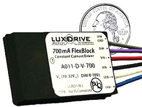 700 mA, Dimmable, FlexBlock DC Driver - With Leads