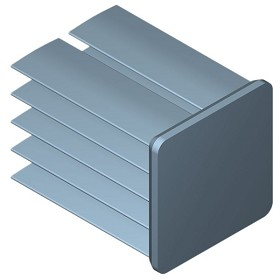 19 mm Square x 25 mm High Alpha Heat Sink - 15.7  °C/W