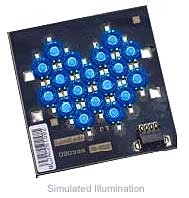 Luxeon 18 LED Flood LED - Blue Batwing, 180 lm @ 1050mA