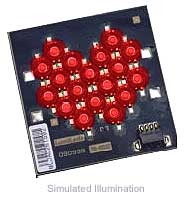 Luxeon 18 LED Flood LED - Red Lambertian, 790 lm @ 1050mA