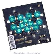Luxeon 12 LED Flood LED - Cyan Batwing, 360 lm @ 700mA