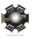 LXHL-MW1D - Luxeon Star LED - White Lambertian, 45 lm @ 350mA