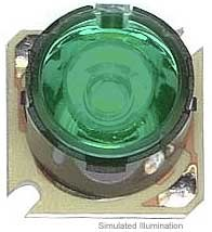 Luxeon Star/O LED - Green Batwing, 53 lm @ 350mA