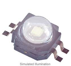Luxeon K2-TFFC LED - Cool White Lambertian, 160 lm @ 1000mA