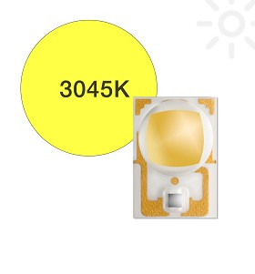 ANSI White (3045K) LUXEON A LED - 174 lm @ 700mA