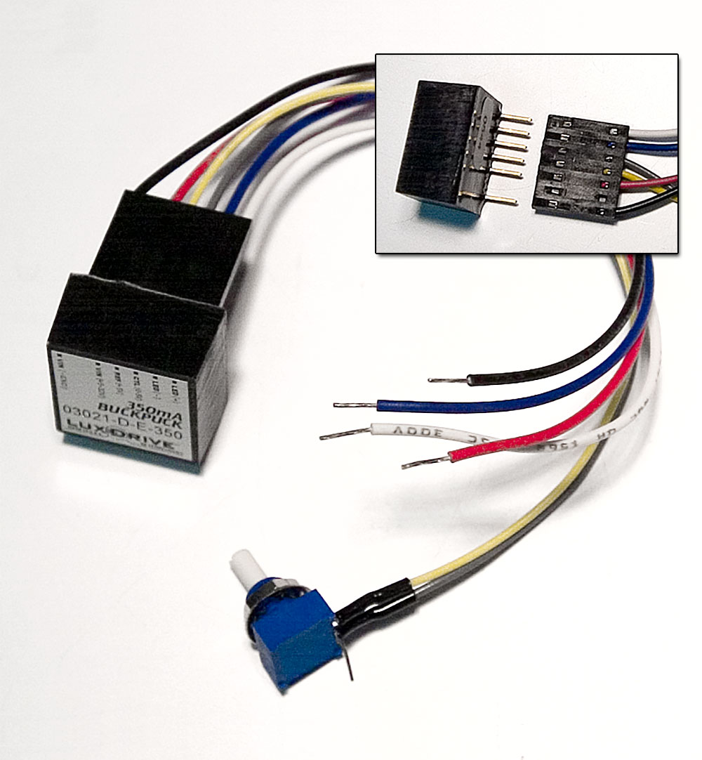 Connecting Wiring Harness For 3021 4015 E Or I Drivers 6 Wire Electronic With Adjust Pot