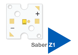 Saber Z1 10mm Square LED Modules