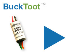BuckToot Low Voltage LED Power Module