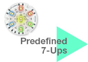 Predefined 7-Up Color Mixers