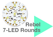 Rebel 7 LED Round Modules