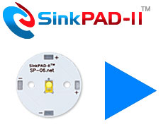 Order SinkPAD-II 25mm Round LED Modules