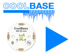 Order CoolBase 25mm Round LED modules