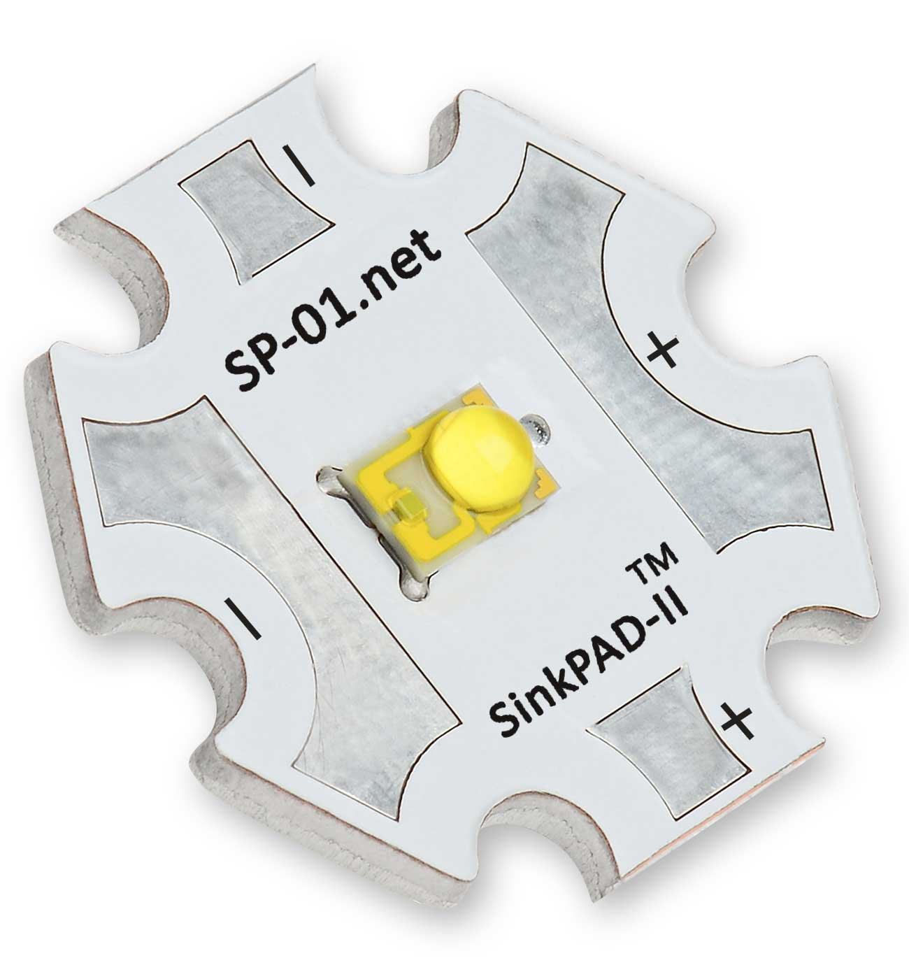 Cyan 505nm Sinkpad Ii Star Led 76 Lm Zxsc400 In The Luxeon High Powered And Datasheet Sp 01 C2 Module Features A Single Lxml Pe01 0070 Rebel Soldered To 20mm Base