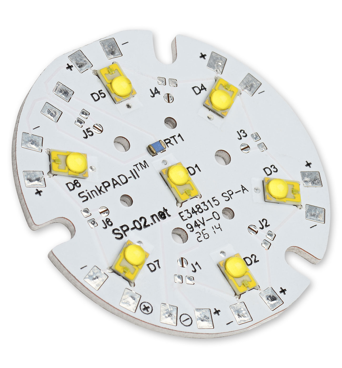 Pc Amber 591nm Sinkpad Ii 7 Led Round Module 330 Lm Zxsc400 In The Luxeon High Powered And Datasheet