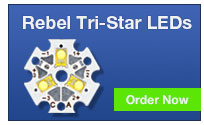 Rebel Tri-Star LED Modules