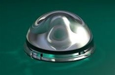 Carclo 130° 20 mm Circular Beam Optic - Surface Mount