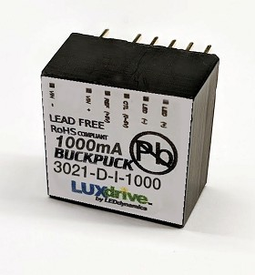 1000mA Internally Dimmable BuckPuck DC Driver - PCB Mount