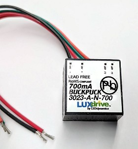 700mA, Non-Dimmable, BuckPuck AC Driver - With Leads