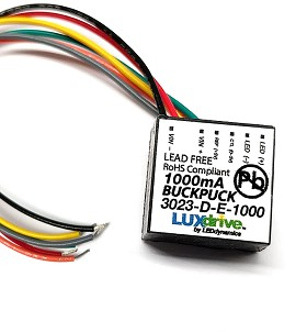 1000mA Externally Dimmable BuckPuck DC Driver - With Leads