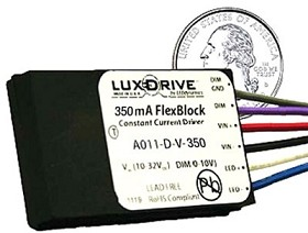 350 mA, Dimmable, FlexBlock DC Driver - With Leads
