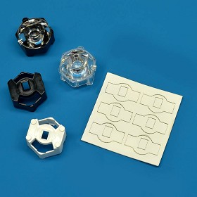 Mounting Tape for Carclo 20 mm Hex Optic Holders (6 Piece Sheet)