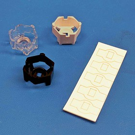 Mounting Tape for Carclo 20 mm Hex Optic Holders (5 Piece Sheet)