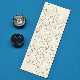 Mounting Tape for Khatod 20 mm Round Optic Holders (10 Piece Sheet)