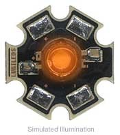 Luxeon III Star LED - Red-Orange Side Emitting, 170 lm @ 1400mA