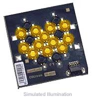 Luxeon 12 LED Flood LED - Amber Batwing, 300 lm @ 700mA