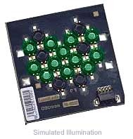 Luxeon 12 LED Flood LED - Green Batwing, 360 lm @ 700mA