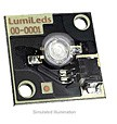 LXHL-MWEA - Luxeon Star/C LED - White Batwing, 45 lm @ 350mA
