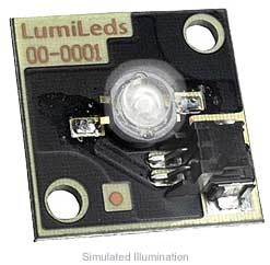 Luxeon Star/C LED - White Batwing, 45 lm @ 350mA