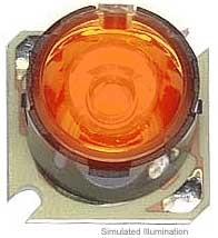 Luxeon Star/O LED - Red-Orange Lambertian, 55 lm @ 350mA