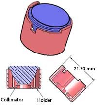 Collimator Holder For The LXHL-NX05