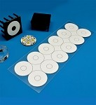 Pre-Cut; Thermal Adhesive Tape for 23 mm Quad LED Assemblies - (12 Piece Sheet)