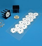 Pre-Cut; Thermal Adhesive Tape for 20 mm Tri-Star LED Assemblies - (12 Piece Sheet)