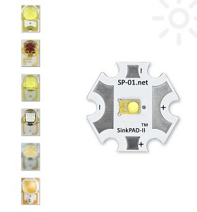 Non-Stocked SinkPAD-II Star LED Assemblies