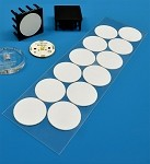 Pre-Cut; Thermal Adhesive Tape for 25 mm Round LED Assemblies - (12 Piece Sheet)